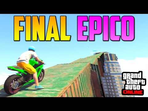 FINAL ÉPICO!! – GTA 5 Online 1.15 – Funny Moments GTA V Online 1.15