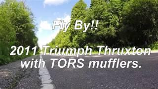 8. 2011 Triumph Thruxton Fly by