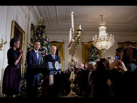 Hanukkah at the White House
