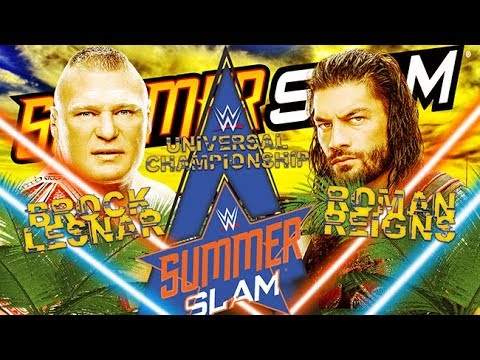 Video Brock Lesnar vs Roman Reigns Summerslam 2018 Promo download in MP3, 3GP, MP4, WEBM, AVI, FLV January 2017
