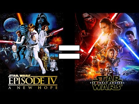 30 Reasons Star Wars A New Hope & Star Wars The Force Awakens Are The Same