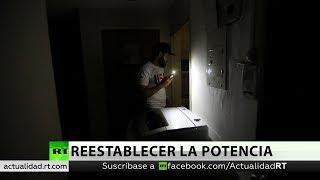 Venezuela recupera totalmente la red eléctrica luego del apagón masivo