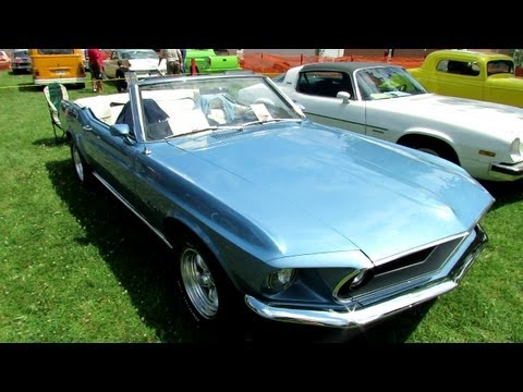 1969 ford mustang convertible interior and exterior mustang video madness. Black Bedroom Furniture Sets. Home Design Ideas