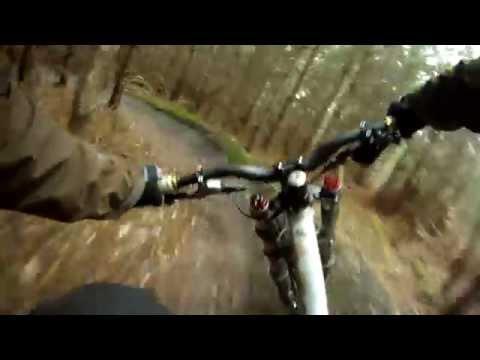 downhill da urlo alla swinley forest (england) - gopro hd