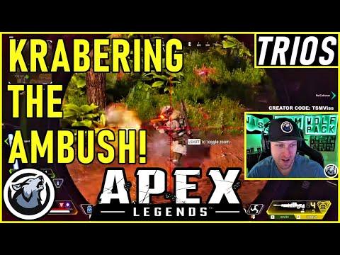 KRABERING THE AMBUSH! VISS w/ TannerSlays and Caliverse APEX LEGENDS SEASON 5
