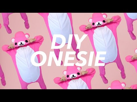 DIY Onesie! (Kigurumi Rilakkuma style) | WITHWENDY