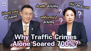 Why Traffic Crimes Alone Soared 700%?