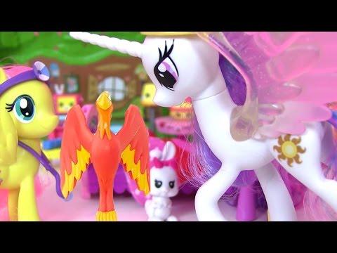 Май Литл Пони Мультик Princess Celestia & Fluttershy Видео для Детей MLP МультикидляДетей
