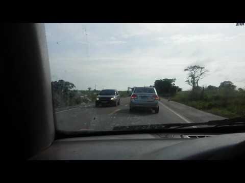 Trecho da BR 222 já está passando .entre Igarapé do meio e Vitória do Mearim ...