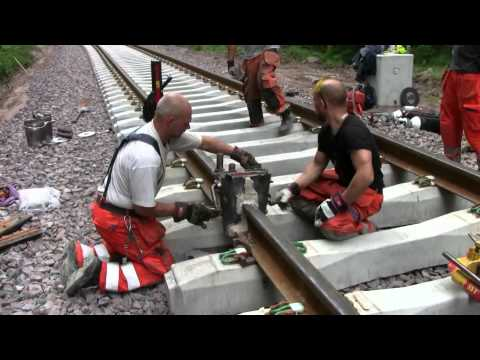 Thermite Welding Railway Tracks