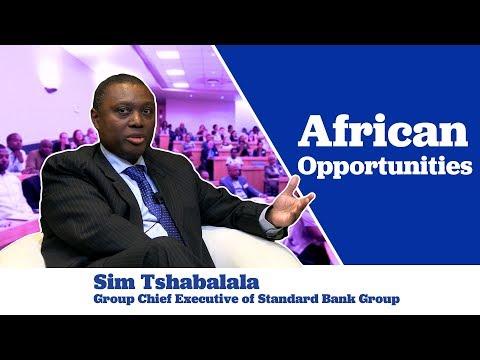 Sim Tshabalala on African Opportunities