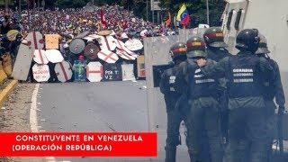 """Miles de militares resguardarán Constituyente en Venezuela (Operación República) #NA24/7 #NA""""Nuestra tarea a partir de ahora es proteger a ese pueblo de Venezuela que va a salir a ejercer su derecho. Es un derecho del venezolano establecido en la Constitución ejercer su derecho al voto. Nada puede estar por encima de eso"""", dijo el ministro de la Defensa, Vladímir Padrino López, precisa AVN.Los militares estarán en todo el territorio nacional, donde se han dispuesto 14.515 centros de votación para el comicio en el que se elegirán 537 de los 545 constituyentes. De acuerdo al artículo 55 de la Carta Magna venezolana, los órganos de seguridad del Estado son los garantes de la protección de los ciudadanos """"frente a situaciones que constituyan amenaza, vulnerabilidad o riesgo para la integridad física de las personas, sus propiedades, el disfrute de sus derechos y el cumplimiento de sus deberes"""".http://noticiasyactualidad.org/#NoticiasyActualidad    #ElArteDeServir #NAPagina de Facebookwww.facebook.com/elartedeservircrVisita nuestra web Recursos gratis www.elartedeservir.orgSí desea  mantenerse informado con los acontecimientos más recientes por favor visita nuestra página, utilizamos fuentes de información confiable para una noticia verídica,   Sí tienes una consulta acerca de algún tema de su interés, comunícate con nosotros a través de nuestra página de Facebook o bien por medio de un correo electrónico. También sí desea descargar materiales gratis ingresá a nuestra página web y encontrarás muchos recursos, esperamos que te sean de utilidad. Gracias por mantenerse informado con El Arte De Servirwww.elartedeservir.orgwww.facebook.com/elartedeservircrNota: No pedimos ni cobramos dinero por  ninguno de los servicios que brindamos  a nuestros seguidores, si alguna persona pide en nuestro nombre por favor reportarlo.Otras servicios http://www.elartedeservir.org/https://actualidad.rt.comhttp://noticiasyactualidad.org/"""