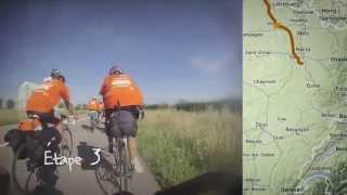 Timelapse : 1300km à vélo en 2 minutes !