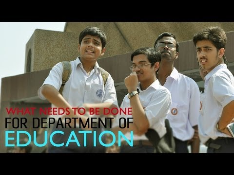 Demands of the Education Department