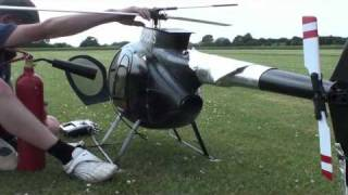 Hughes MD500E Jet Turbine Fourth Test Flight