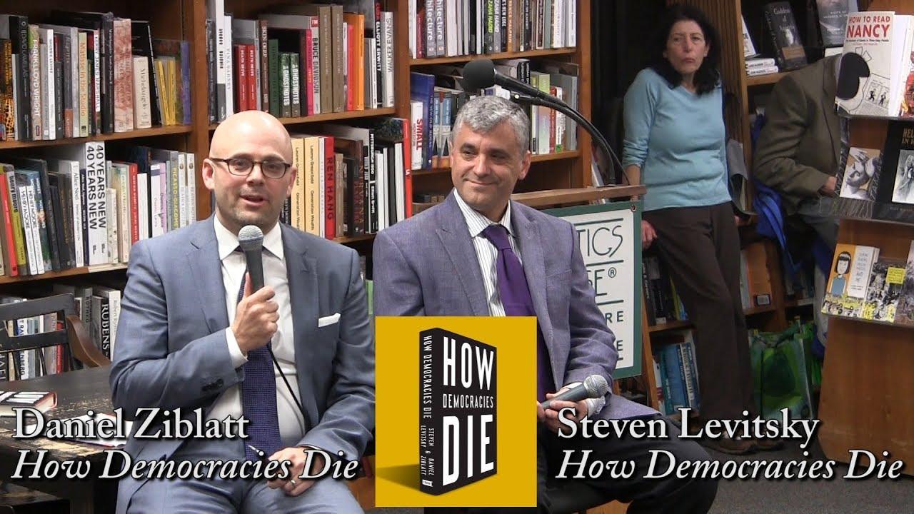 Steven Levitsky & Daniel Ziblatt at Politics & Prose