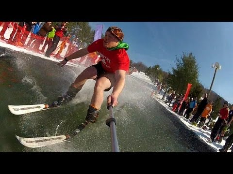 Pond Skim 2013 - Liberty Mountain Resort
