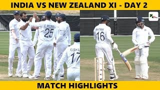 HIGHLIGHTS: NZ XI vs India (Practice Match) | Day 2