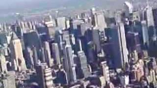 Cirrus Flight Over Manhattan
