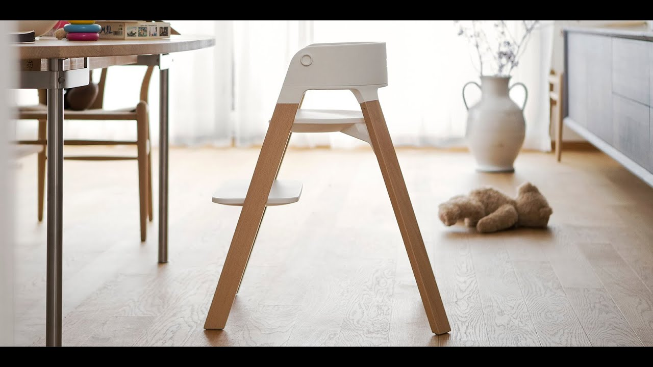 ergonomic stokke steps chair for babies and children. Black Bedroom Furniture Sets. Home Design Ideas