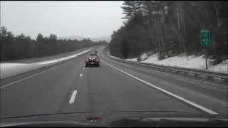 Ashland (NH) United States  city photos : Mass-hole speeding and Karma, I-93 near Ashland NH