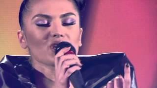 SHEILA HAXHIRAJ - TE NDIEJ ( Kenga Magjike 2013 - Nata e dyte Gjysem Finale )