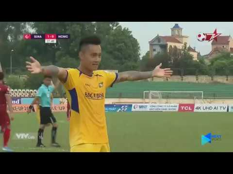 SLNA FC | Highlights | SLNA - CLB TP. HCM | SLNA bị chặn đà hồi sinh ngay trên sân nhà