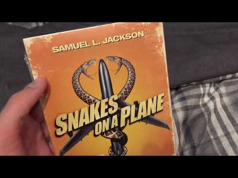 Snakes on a Plane (2006) DVD unboxing (May 20, 2019)