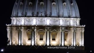 'er Cupolone di Notte   st Peter's Dome by Night (manortiz) 1080