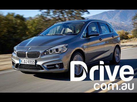 BMW 2-Series Active Tourer First Drive Video Review | Drive.com.au