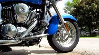 7. fast idle only...Kawasaki Vulcan 900 Cobra PowerPro HP Pipes 2-1