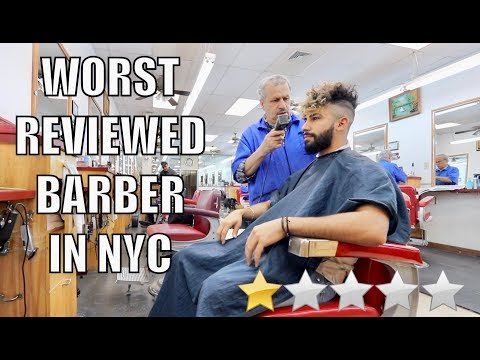 New hairstyle - Haircut At The WORST Reviewed Barber in my City (New York City)