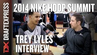 Trey Lyles - 2014 Nike Hoop Summit - Interview