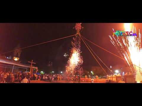 Quema de Castillo, festividad al Señor de Los Corazones