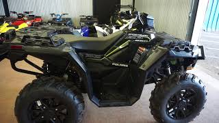 6. 2019 Polaris Sportsman 850 SP Premium Black at Maxeys in Oklahoma City