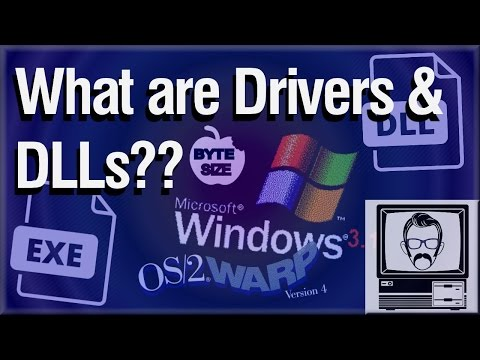 What are Drivers & DLLs? [Byte Size] | Nostalgia Nerd