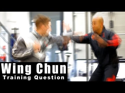 Wing Chun Techniques – how to deal with a jab cross. Q7