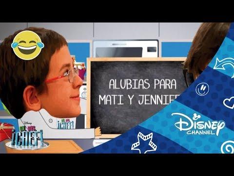 Disney Channel España | Un, Dos, ¡Chef! – Alubias para Mati Ortiz y Jennifer Pareja