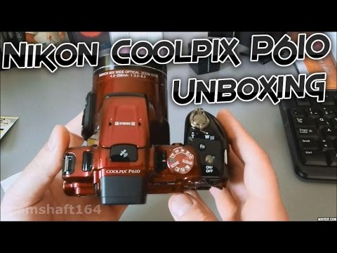 Nikon Coolpix P610 Red Unboxing