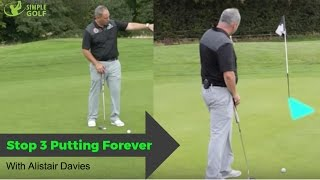 Video How To Stop 3 Putting Forever With These Simple Golf Tips MP3, 3GP, MP4, WEBM, AVI, FLV Oktober 2018