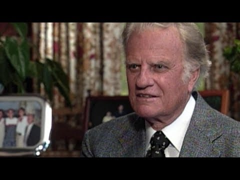 Billy Graham, in his own words, about facing death and the Lord (видео)