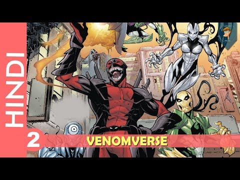 """venomverse""--episode 02!! Poison Spiderman !!/marvel Comics In Hindi"