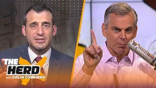 Doug Gottlieb says Antonio Brown trade is about 'getting paid', talks Lakers' struggles | THE HERD by Colin Cowherd