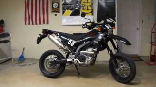 9. 2009 Yamaha Super Moto WR250X with Yoshimura Exhaust