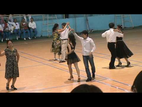 Trang & LiNh - Khieu Vu Tango - Tai Nha Thi Dau Thai Nguyen