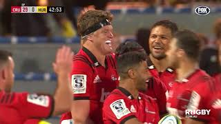 Crusaders v Hurricanes Rd.2 2019 Super rugby video highlights | Super Rugby Video Highlights