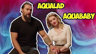 Amber Heard Can T Stop Flirting With Jason Momoa  Aquaman