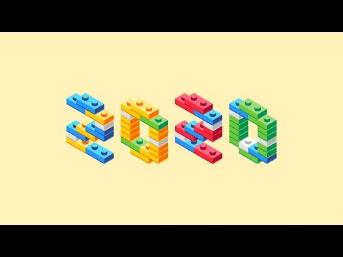 Illustrator Beginner Tutorial: Isometric Block Letters