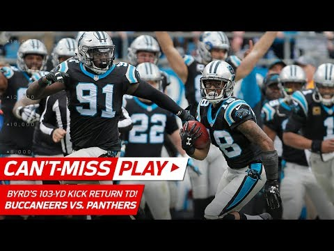 Video: Damiere Byrd's 103-Yd Kick Return TD, a Franchise Record! | Can't-Miss Play | NFL Wk 16 Highlights