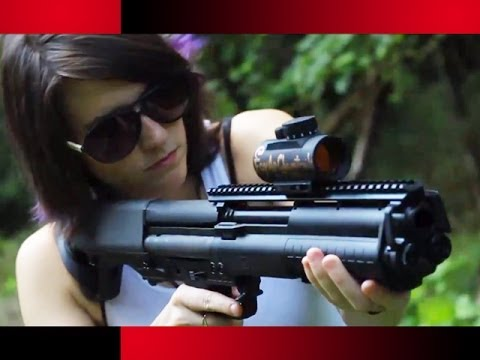 Kel-tec Ksg 12 Gauge Shotgun The Kel-tec Ksg 12 Gauge